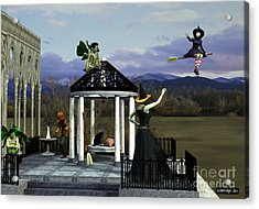 Before Dorothy Came To Oz Acrylic Print by Methune Hively