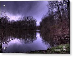 Before The Storm Acrylic Print by Paul Ward