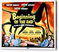 Beginning Of The End, The, Peter Acrylic Print by Everett