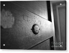 Behind Door No. 329 Acrylic Print by Luke Moore