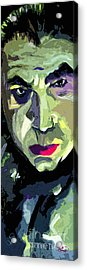 Bela Lugosi Dracula Portrait Acrylic Print by Ginette Callaway
