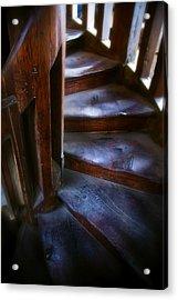 Bell Tower Steps II Acrylic Print by John  Bartosik