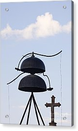 Bells And Cross Acrylic Print by Jeremy Woodhouse