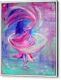 Belly Dancer Acrylic Print by Regina Levai