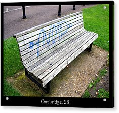 Benches Acrylic Print featuring the photograph Bench 04 by Roberto Alamino