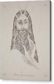 Benedictus Acrylic Print by Bruce Zboray