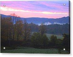 Berkshires Sunrise Acrylic Print by Todd Breitling