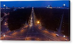 Berlin From The Siegessaule  Acrylic Print by Mike Reid