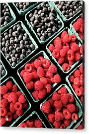 Berry Baskets Acrylic Print by Denise Taylor