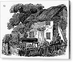 Bewick: Rural House Acrylic Print by Granger
