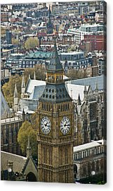 Big Ben Up Close And Personal Acrylic Print by Douglas Barnett