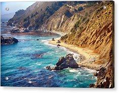 Big Sur Coastline Acrylic Print by Joe Josephs Photography