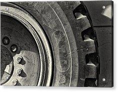 Big Wheel Acrylic Print by Patrick M Lynch