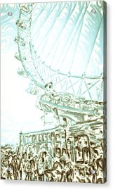 Big Wheel Acrylic Print by Tom Gowanlock