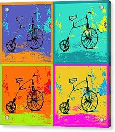 Bike 1b Acrylic Print by Mauro Celotti