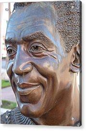 Bill Cosby Bust I Acrylic Print by Jeff Lowe