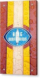 Bing Surfboards Acrylic Print by Ron Regalado