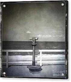 Binocular Acrylic Print by Bernard Jaubert
