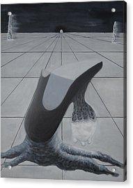 Birth Of A New Shoe Acrylic Print by Duwayne Washington