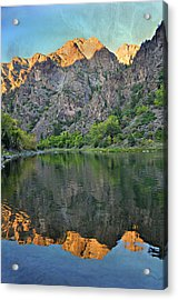 Black Canyon 4 Acrylic Print by Marty Koch