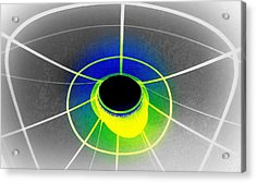 Black Hole With Aura Acrylic Print by Randall Weidner