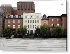 Blair House Is The Official Acrylic Print by Everett