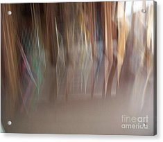 Blended Abstract Acrylic Print by Greg Geraci