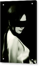 Blindfold Acrylic Print by Joana Kruse