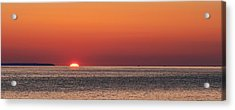 Block Island Sunrise Acrylic Print by William Jobes