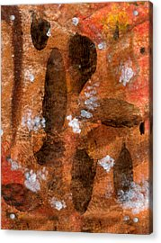 Blossoming Bark Acrylic Print by Kimanthi Toure