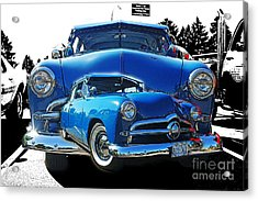 Blue Classic Dbl.hdr Acrylic Print by Randy Harris
