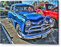 Blue Classic Hdr Acrylic Print by Randy Harris