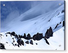 Blue Mountain Winds Acrylic Print by Tap  On Photo
