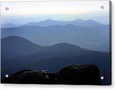 Blue Ridge Mountains Acrylic Print by Emanuel Tanjala