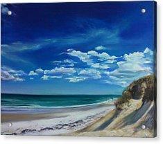 Blue Sky Walk Acrylic Print by Laura Balboni Craciun
