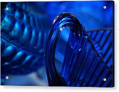 Blue Wave Acrylic Print by Eamon Forslund
