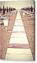 Boardwalk Acrylic Print by Joana Kruse