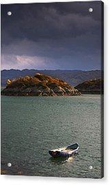 Boat On Loch Sunart, Scotland Acrylic Print by John Short