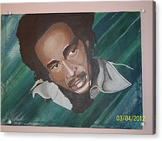 Bob Marley 2011 Acrylic Print by Elaine Holloway