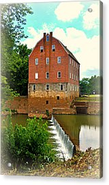 Bollinger Mill Acrylic Print by Marty Koch