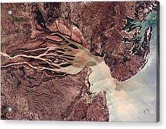 Bombetoka Bay, Madagascar Acrylic Print by Nasa