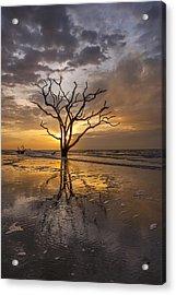 Boneyard Sunrise Acrylic Print by Joseph Rossbach