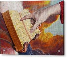 Book Of Life Acrylic Print by Yulia Litvinova