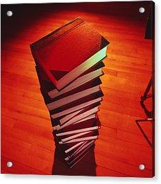 Books Acrylic Print by Tek Image