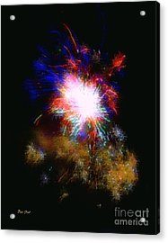 Born On The 4th Of July Acrylic Print by Dale   Ford