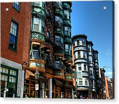 Boston 017 Acrylic Print by Lance Vaughn