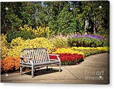 Botanical Beauty Acrylic Print by Cheryl Davis