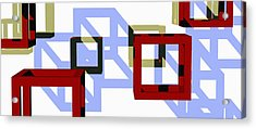 Boxed In Acrylic Print by Richard Rizzo