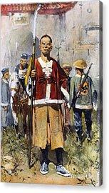 Boxer Rebellion, 1900 Acrylic Print by Granger