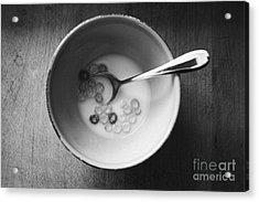 Breakfast Acrylic Print by Linda Woods